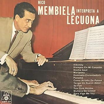 Nico Membiela Interpreta a Lecuona