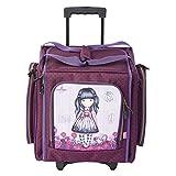 Santoro Gorjuss Transporttasche mit Rollen Zucker und Gewürze 49.1 x 37.4 x 28.3 cm Rose