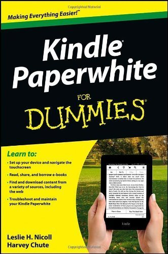 Kindle Paperwhite For Dummies by Leslie H. Nicoll (2013-01-22)