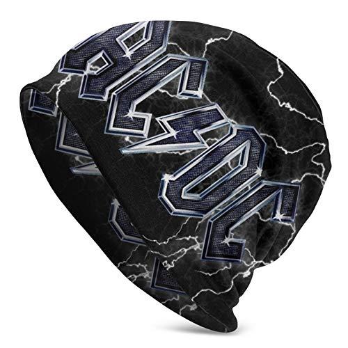 Wintermütze für Herren und Damen, AC-DC, dick, thermisch, winddicht
