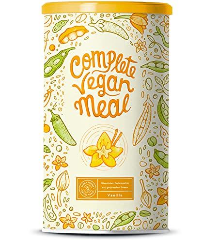Complete Vegan Meal Vanille - Pflanzlicher Mahlzeitersatz für langanhaltende Sättigung und Leistungsfähigkeit, mit 24 Mikronährstoffen, Ohne künstliche Süßstoffe oder Aromen - 1kg Pulver