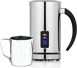 Chef's Star Premium Automatic Milk Frother - Heater, Frother, Cappuccino Maker w/Foam Density Feature - Milk Frothing Set - 20oz Frothing Pitcher Bonus