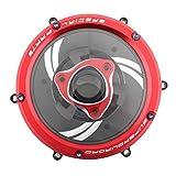 TISHITA Placa de Presión de La Tapa del Embrague de Las Motocicletas para Ducati 1199 Panigale - Rojo