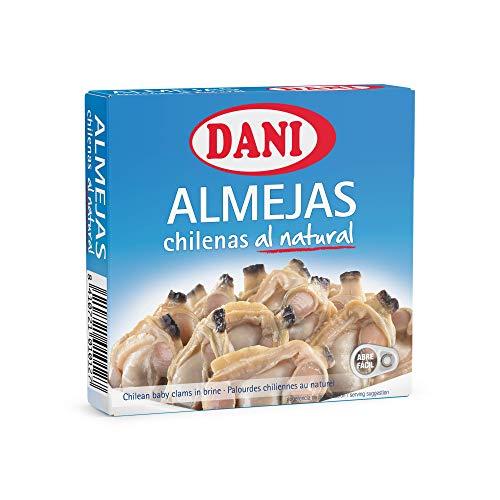 Dani - Almejas chilenas al natural - Pack 6 x 111 gr.