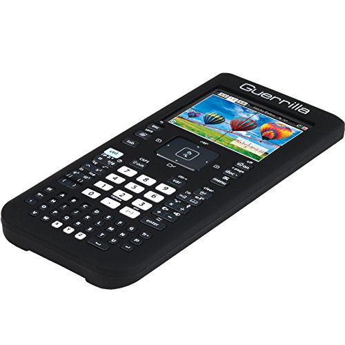 Guerrilla Silicone Case for Texas Instruments TI Nspire CX/CX CAS Graphing Calculator, Black Photo #4