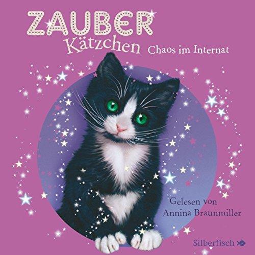 Chaos im Internat (Zauberkätzchen 2) audiobook cover art