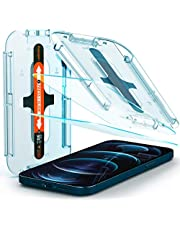 Spigen EZ Fit Tempered Glass Screen Guard for iPhone 12 Pro Max - 2 Pack