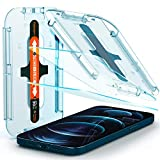 [Glas.tR EZ Fit] Tempered glass durability rated at 9H hardness (2 Pack) Includes an innovative, auto-alignment installation kit for effortless application Made case compatible with every Spigen case Oleophobic coating for daily fingerprint resistanc...