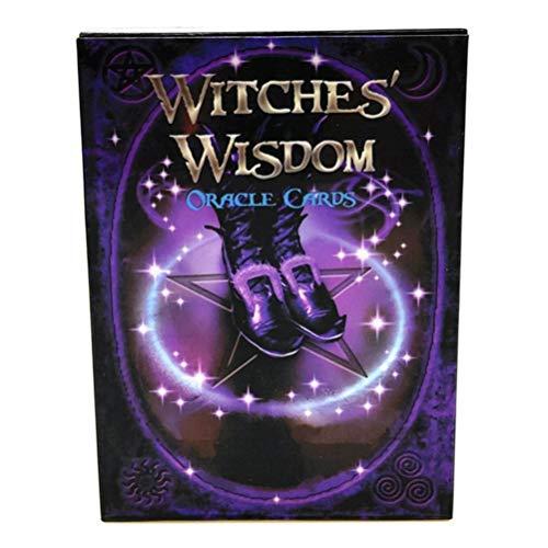 Angshi Superior 48 Karten Hexen Wisdom Oracle Karten Atemberaubendes Kartenspiel und Informationsbuch DIY Metaphysisch New Age Tarot. 1
