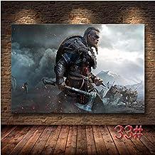 Ds0501 Xin Yao Store Das Spiel Poster des Assassins Creed Valhalla Hd Leinwand Malerei Dekoration Leinwand Kunst Malerei Wand Poster Kunst Leinwand 50X70Cm