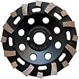 LXDIAMOND - Lijadora de diamante (125 x 22,23 mm, para materiales abrasivos, asfalto y azulejos, universal, 125 mm)