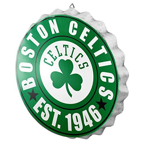Boston Celtics NBA Bottle Cap Wall Sign
