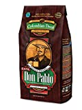 2LB Cafe Don Pablo Decaf Swiss Water Process Colombian Gourmet Coffee Decaffeinated - Medium-Dark Roast - Whole Bean Coffee - 2 Pound ( 2 lb ) Bag
