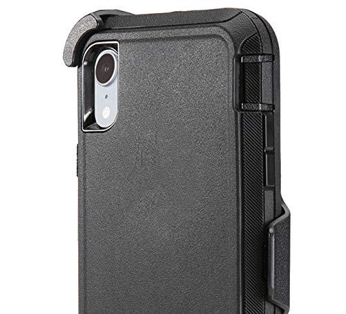 HIQUE Defense Case for Samsung Galaxy A50 /A50S,[NO Screen Protector][Heavy Duty][Drop Protection] Tough Case for Galaxy A50 - Black