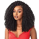 MULTI PACK DEALS! Sensationnel Synthetic Hair Crochet Braids African Collection 3X Pre Looped Snap Bantu Knot Out 12' (2-PACK, 1B)
