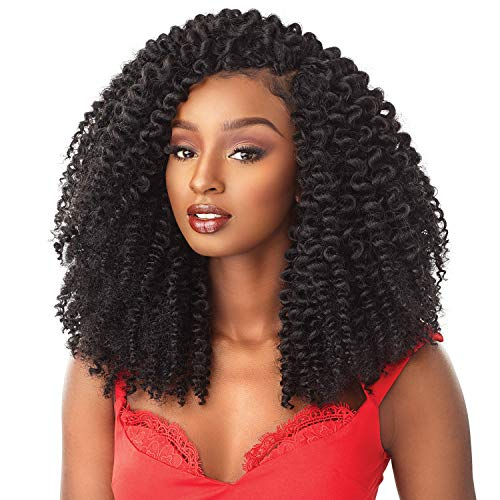 MULTI PACK DEALS! Sensationnel Synthetic Hair Crochet Braids African Collection 3X Pre Looped Snap Bantu Knot Out 12' (2-PACK, 27)