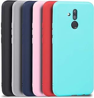 922ef9aa337 Wanxideng 6 x Funda Huawei Mate 20 Lite, Carcasa Suave Mate en Silicona TPU  -