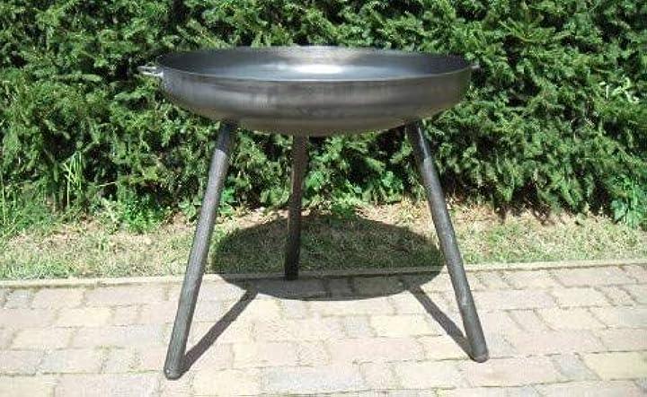 Braciere in ferro feuerschale con gambe alte, diametro: 80 cm FS2416L
