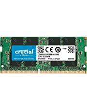 Crucial CT8G4SFS824A Memoria per Portatile da 8 GB Single Rank x 8, DDR4, 2400 MT/s, PC4-19200, SODIMM, 260-Pin