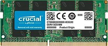 Crucial 8GB Single DDR4 2400 MT/S  PC4-19200  SR x8 SODIMM 260-Pin Memory - CT8G4SFS824A