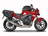 Shad H0CF54SE Kit Soporte Bolsa Lateral para Honda Cbr500R, Negro