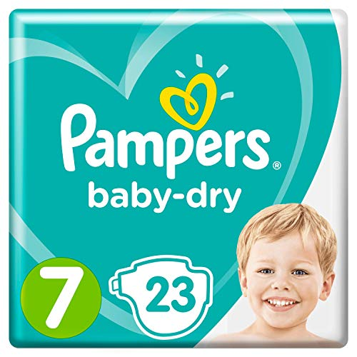 Pampers Baby-Dry Größe7, 23Windeln