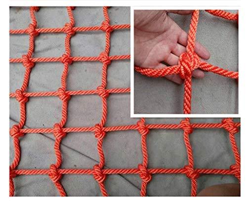 YINUO Gartennetz Anti-Fall-Netz Kletterseilnetz Deko-Netz Decke, Wand, Garten Deko-Netz Treppe Balkon Schutznetz Nylon Sicherheitsnetz Kinder Kletternetz Zaunnetz (Color : Mesh12cm, Size : 1 * 3m)