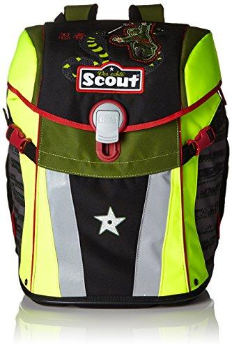 Scout 73510732500 Schulranzen-Set, 41 cm, Schwarz