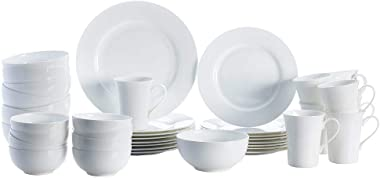 Mikasa 5225580 Delray 40-Piece Dinnerware Set, Service for 8