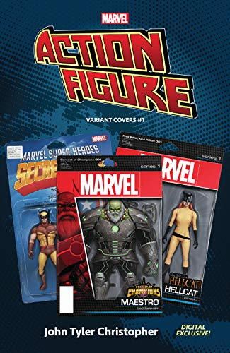 Marvel: The Action Figure Variant Covers #1 (Marvel Variant Cover Collections (2020)) (English Edition)