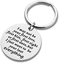 Couples Keychains Set Gifts for Boyfriend Girlfriend 2pcs I Love You More Best Wedding Anniversary Christmas Birthday Gift for Her Him Hubby Wifey Friend Couple Key Ring Jewelry Charm Pendant