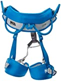 PETZL - CORAX, Versatile and Adjustable Harness, Size 1, Light Blue