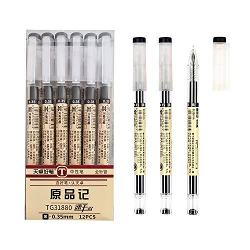 12 Packs Gel Ink Rollerball Pens...