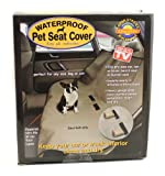 Waterproof dog car seat covers image