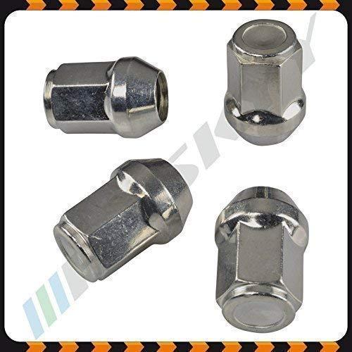 24 Zinc Écrou de Roue Mère M12x1, 5x34 SW19 Conique Cône 60° Aluminium Acier Jantes