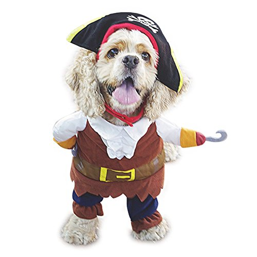NACOCO Pet Dog Costume Pirates of The Caribbean Style (Small)