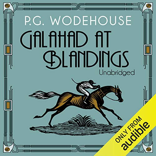 Galahad at Blandings Audiobook By P. G. Wodehouse cover art