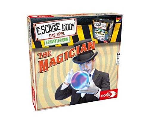 Noris 606101798 Escape Room Erweiterung The Magician, Familien und Gesellschaftsspiel für Erwachsene, Nur mit dem Chrono Decoder spielbar, ab 16 Jahren