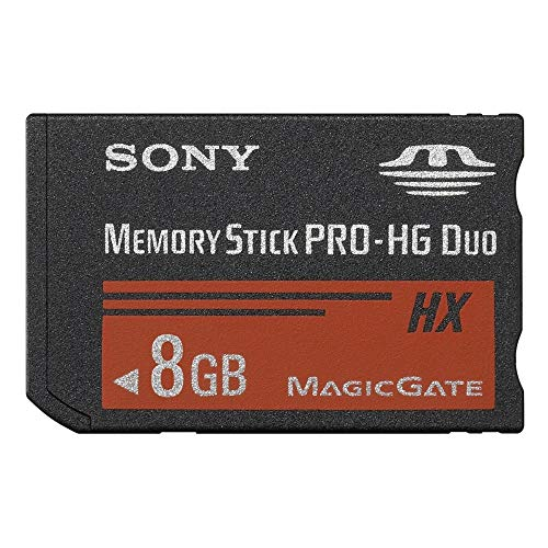 Sony MS-HX8B 8GB High-Speed Memory Stick Duo Karte (Flash-Speicherkarte)