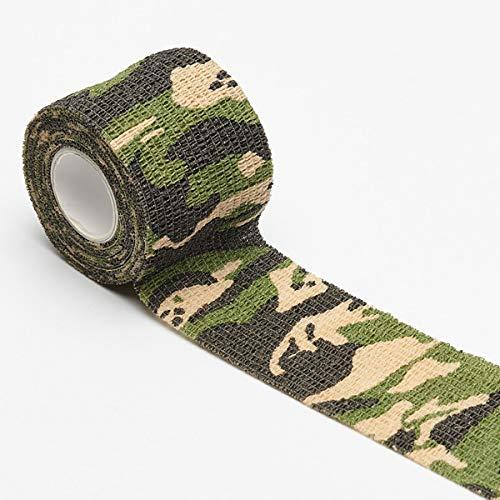 6 Rollen selbstklebende Tarnung Band Camouflage-Bänder Vliesstoff Band
