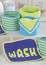 Wendy Home Accessories Supreme Cotton Crochet Pattern 6116 DK