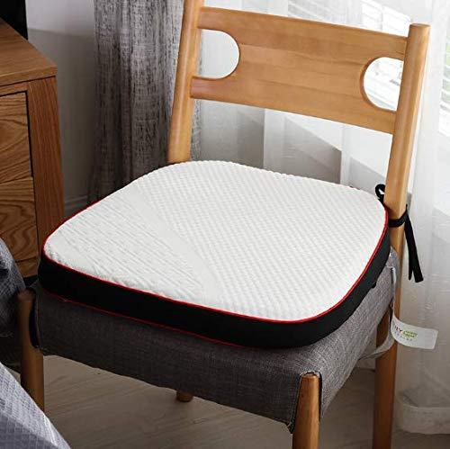 DUIPENGFEI Memory foam travel seat cushion in the car Manchester United waist cushion back support slow rebound pillow, 45 x 45cm.