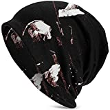 Gorra Black Cool Graphic Scarface One Size Adult Men's Knit Hat para Mujeres Hombres