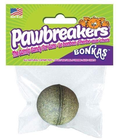 Pawbreakers Bonkas | Naturreines Katzenminze-Spielzeug für Katzen | 17 Gramm