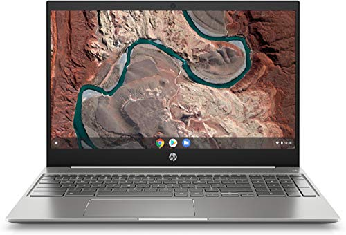(Renewed) HP 15.6' FHD Touchscreen Chromebook Laptop Computer, for Students or Business, Intel Core i3-8130U(Beat i5-7200U), 4GB, 128GB eMMC, Chrome OS, 1 Year Extended Warranty + 128GB SD Card