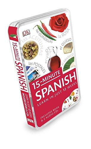 15-Minute Spanish: Learn in Just 12 Weeks (15-Minute Language Packs)