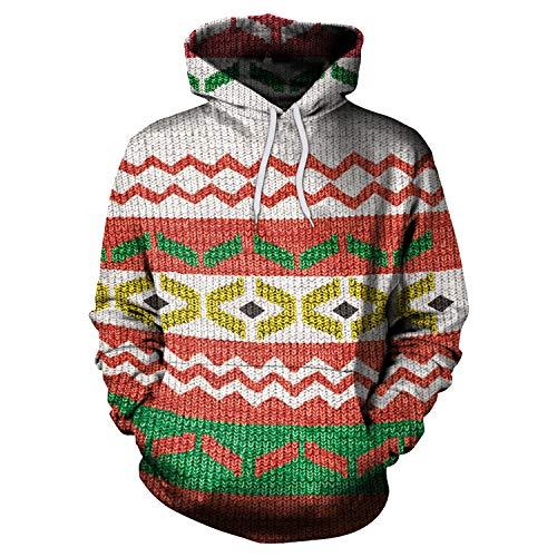 Story of life 2019 herfst kerstprint sweatshirt Europese en Amerikaanse losse hoodie mannen en vrouwen Kerstmis hoodie