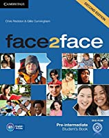 face2face Pre-intermediate Student's Book with DVD-ROM. 2nd.