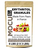 Erythritol Granules | Made From Non GMO Pears In France | Not From Corn Sludge in China | 6 LB | Zero Calories | No Net Carbs