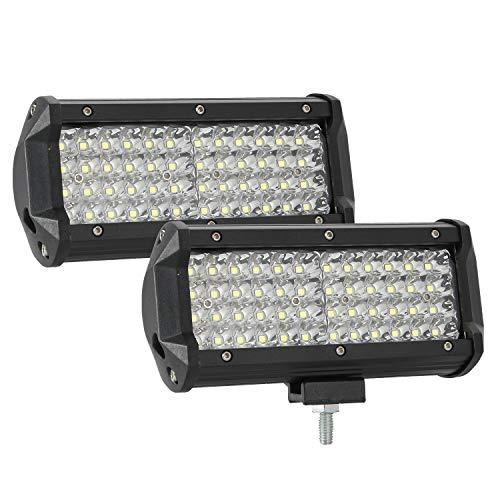 "26 cm 10/"" voiture 144 W 12 V 24 V DEL Travail Flood Light Lampe Projecteur Van ATV Offroad"